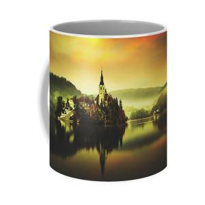 morning at the lake of Bled iphone 11 case