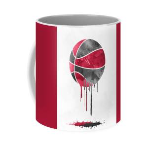 Kyle Lowry Toronto Raptors Pixel Art 60 Coffee Mug For Sale