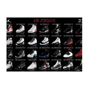 Air Jordan And Muggsy Bogues Greeting Card for Sale by Brian Reaves c2f671822
