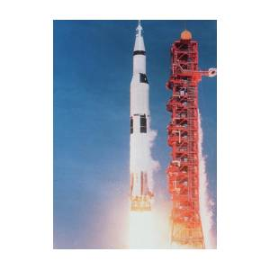 New 5x7 NASA Photo Space Shuttle Columbia on Launch Pad before 1st Mission