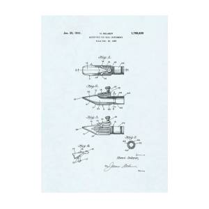 1876 Alexander Graham Bell Telegraphy Patent Drawing