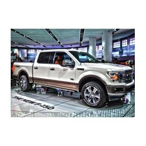 Ford King Ranch For Sale >> 2018 Ford F 150 King Ranch 3 Greeting Card For Sale By Adam