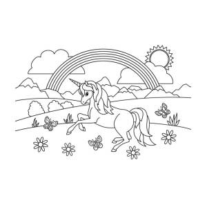 Free Cute Chubby Unicorn - Cartoon , Free Transparent Clipart ... | 500x700