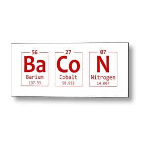ae943e68058b Think Chemistry Element Word Metal Print by Nishanth Gopinathan