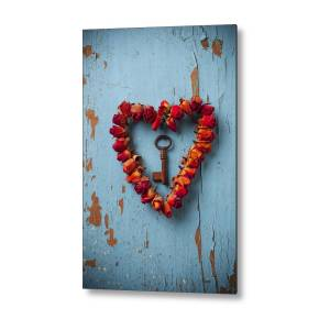 Four Stone Hearts Metal Print By Garry Gay