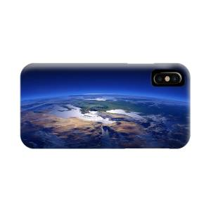 Earth Sunrise From Outer Space Iphone X Case For Sale By