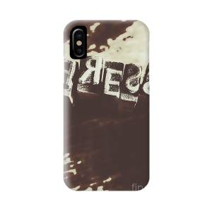 Letters In Jumble IPhone X Case for Sale by Jorgo
