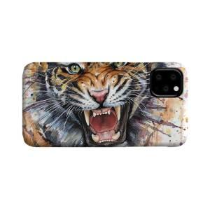 Tiger portrait iPhone 11 case