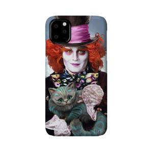 Mad Hatter Joker Card iPhone 11 case