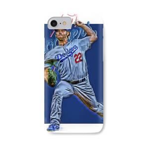 Clayton Kershaw Los Angeles Dodgers 7 iphone case