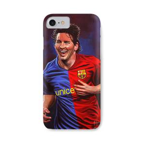 Lionel Messi And Cristiano Ronaldo Iphone 8 Case For Sale By