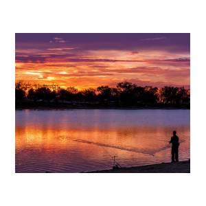 c4a6c6cf8c48 Fisherman At Sunrise Poster by Teri Virbickis · Flip Flops ...