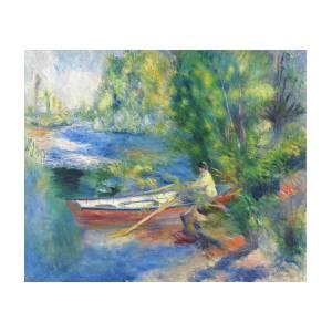 Art Print//Poster Chestnut Tree in Bloom 4260 Pierre Auguste Renoir