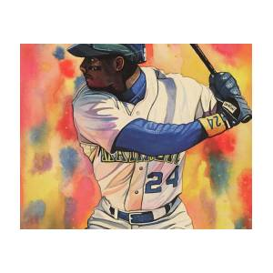 f38909670c Ken Griffey Jr - Seattle Mariners By Michael Pattison Poster by ...