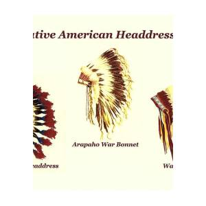 951c637ee Native American Headdresses Number 2 Poster by Michael Vigliotti