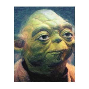 Yoda Poster by Zapista Zapista