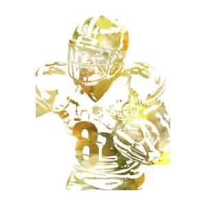 Antonio Brown Pittsburgh Steelers Pixel Art 17 Poster By Joe Hamilton