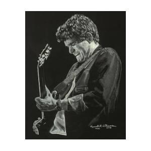 d8f3fc1dea1 Eddie Van Halen Poster by Kenneth Williams