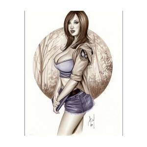 "TESSA FOWLER 8/"" X 10/"" glossy photo reprint"