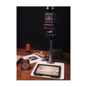 Darkroom Photograph Enlarger Art Print by Science Photo Library
