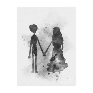 6344af6a549 Victor And Emily Art Print by My Inspiration