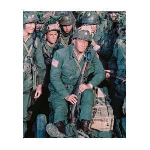 Henry Fonda In The Longest Day Art Print by Silver Screen
