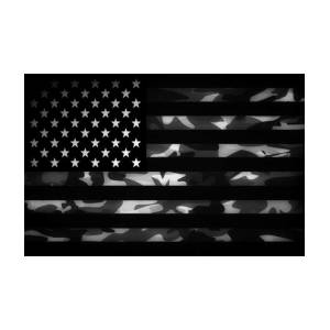 5b10743b35d American Camouflage Art Print by Nicklas Gustafsson