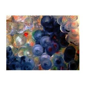 2d86aa882c Blueberry Space Jazz Art Print by Lisa Kaiser