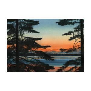 Fiji Giclee Canvas Picture Wall Art Denarau Island at Sunset