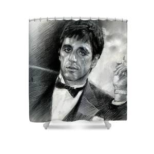 Scarface Shower Curtain For Sale By Viola El