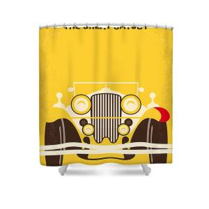 No206 My The Great Gatsby Minimal Movie Poster Shower Curtain For Sale By Chungkong Art