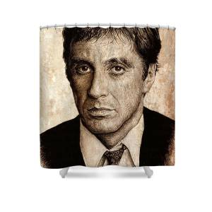 Scarface Shower Curtain For Sale By Andrew Read
