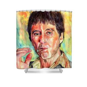 Scarface Shower Curtain For Sale By Suzanns Art