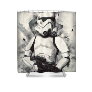 Stormtrooper Shower Curtain For Sale By Zapista