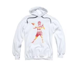858d5c428fa Patrick Mahomes Kansas City Chiefs Apparel T Shirt Pixel Art 1 Adult  Pull-Over Hoodie