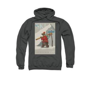 Native American Indian Bear Wildness Casual  Graphic Pullover Hoodie