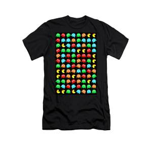 9d1604c0f8b Ms Pacman Panel T-Shirt for Sale by Daniel Hagerman