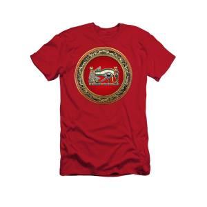 38159f7c Egyptian Sun God Ra T-Shirt for Sale by Serge Averbukh