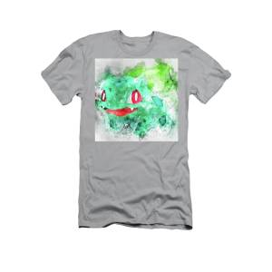 a82416aa Pokemon Bulbasaur Abstract Portrait - By Diana Van T-Shirt for Sale by Diana  Van