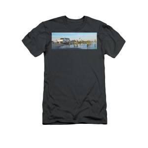 78dbe3e80 Deauville Inn Panorama - Strathmere New Jersey T-Shirt for Sale by Bill  Cannon