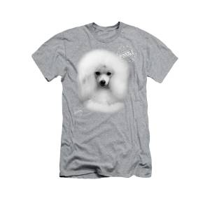 That Cute White Toy Poodle T-Shirt for Sale by IMia DEsigN