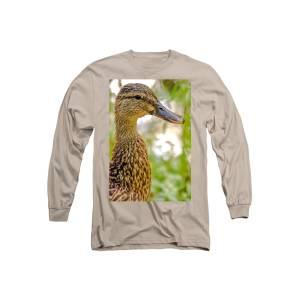68be6ecd01890 Cute Female Duck Long Sleeve T-Shirt for Sale by Optical Playground By MP  Ray