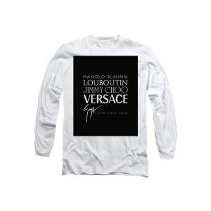 b109749f Louboutin, Versace, Jimmy Choo - Black And White - Lifestyle And Fashion Long  Sleeve