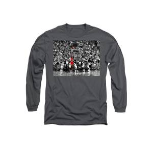 addc2eb31bc The Last Shot 1 Long Sleeve T-Shirt for Sale by Brian Reaves · Michael  Jordan Suspended ...
