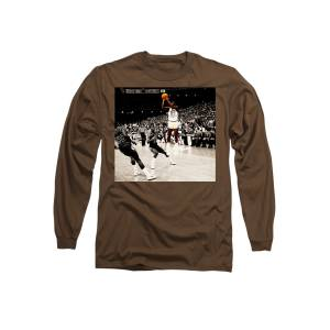 732b14e1ad8439 Air Jordan Unc Last Shot Long Sleeve T-Shirt for Sale by Brian Reaves
