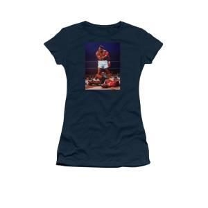 869a27439 Muhammad Ali Versus Sonny Liston Women's T-Shirt for Sale by Paul Meijering