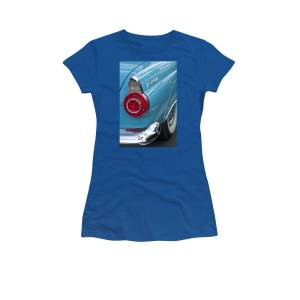 498789d3 1956 Ford Thunderbird Taillight And Emblem Women's T-Shirt for Sale by Jill  Reger