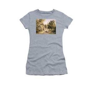 engrospris pris reduceret billigere The Shepherdess Women's T-Shirt for Sale by Johann Baptist ...