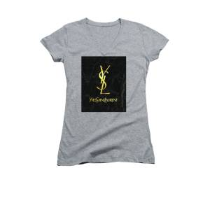 29c5f1b6 Yves Saint Laurent - Ysl - Black And Gold - Lifestyle And Fashion Women's V-
