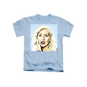275c3017 Christina Aguilera Kids T-Shirt for Sale by Ez Art